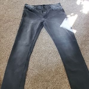 Men's Gray Robert Geller + Five Four Slim Fit Jean